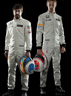 Fernando Alonso and Jenson Button, McLaren Honda
