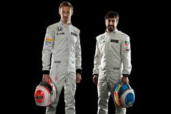 Jenson Button et Fernando Alonso, McLaren Honda