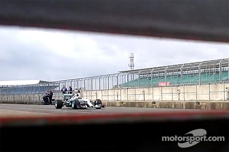 Screenshot von einem Mercedes-Teaservideo über den W06