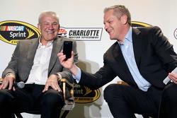 Dale Jarrett et Marty Snider
