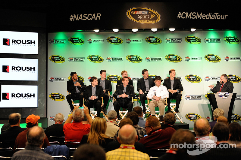 Darrell Wallace jr., Ryan Reed, Chris Buescher, Elliott Sadler, Trevor Bayne, Ricky Stenhouse jr., G
