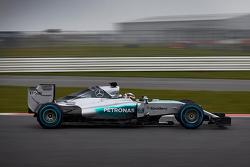 Нико Росберг. Презентация Mercedes AMG F1 W06, презентация.