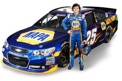 Skema cat Chase Elliott 2015