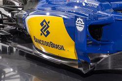 Dettaglio della nuova Sauber C34-Ferrari