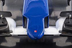 Detail of the new Sauber C34-Ferrari
