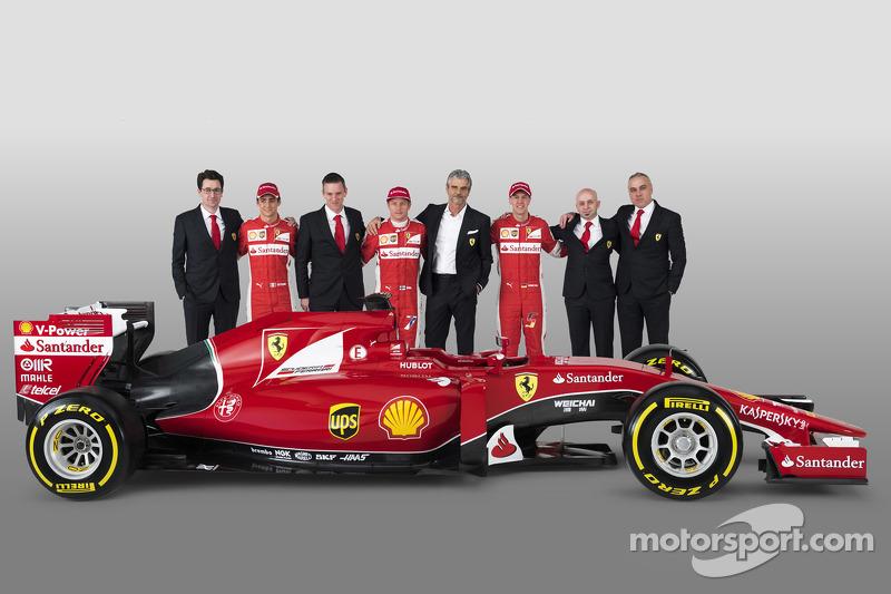Presentación de la Ferrari SF15-T