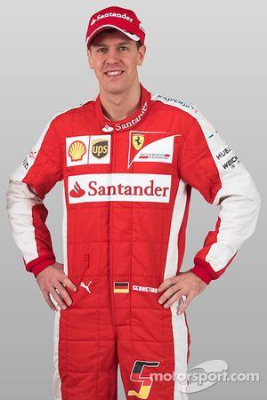 Sebastian Vettel, de Ferrari