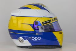 The helmet of Marcus Ericsson, Sauber F1 Team