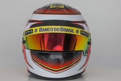 The helmet of Raffaele Marciello, Sauber F1 Team Test and Reserve Driver
