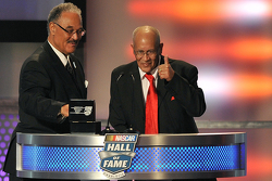 Franklin Scott und Wendell Scott jr., die Söhne von Wendell Scott aus der NASCAR Hall of Fame