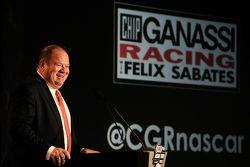 Chip Ganassi, co-propriétaire du Chip Ganassi Racing
