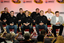 Brian Scott, Ty Dillon, Brendan Gaughan, Austin Dillon, Paul Menard, Ryan Newman, Richard Childress