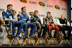 Dale Earnhardt Jr., Jimmie Johnson, Kasey Kahne, Jeff Gordon, Rick Hendrick