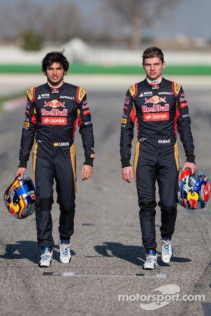 Max Verstappen and Carlos Sainz Jr., Scuderia Toro Rosso