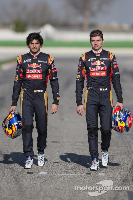Макс Ферстаппен та Карлос Сайнс мол., Scuderia Toro Rosso