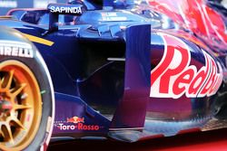 Scuderia Toro Rosso STR10 sidepod detail