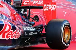 Scuderia Toro Rosso STR10 detail sidepod