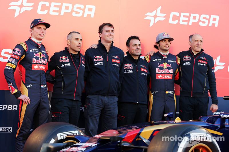 9. Презентация Toro Rosso (февраль 2015)