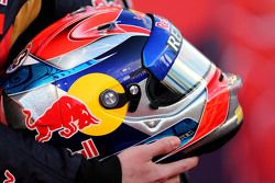 Helmet of Max Verstappen, Scuderia Toro Rosso