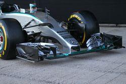 Mercedes AMG F1 W06 voorvleugel