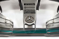 Презентация Mercedes AMG F1 W06, студийная съемка.