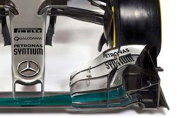 Details van de nieuwe Mercedes AMG F1 W06