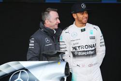 Льюис Хэмилтон. Презентация Mercedes AMG F1 W06, презентация.