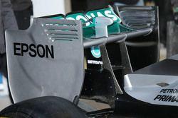 Mercedes AMG F1 W06 achtervleugel