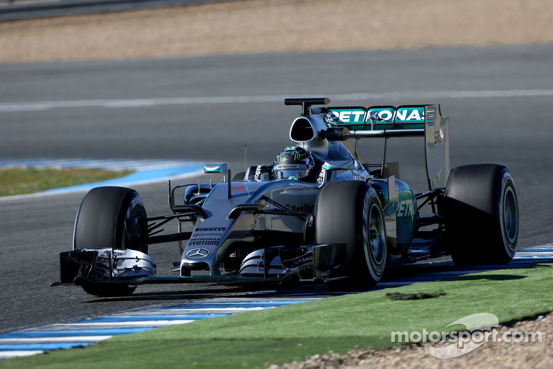 Nico Rosberg fue el más rápido
