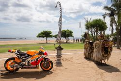 The 2015 Repsol Honda Team livery