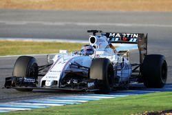 Valtteri Bottas, Williams FW37: combinaison