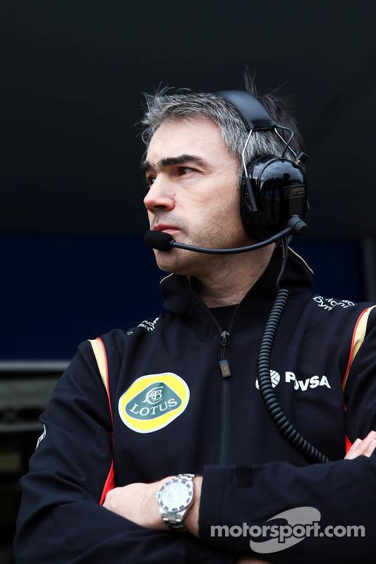 Nick Chester, Lotus F1 Team, Technischer Direktor