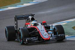 Fernando Alonso, Sensor de carrera del McLaren MP4-30