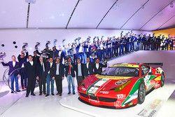 Ferrari GT premiação dos vencedores