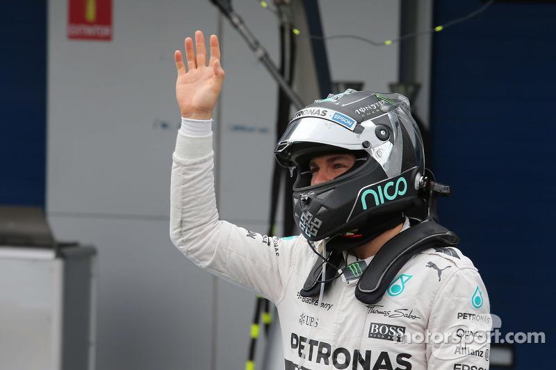 Nico Rosberg acabaría el mundial 2º, con 322 puntos