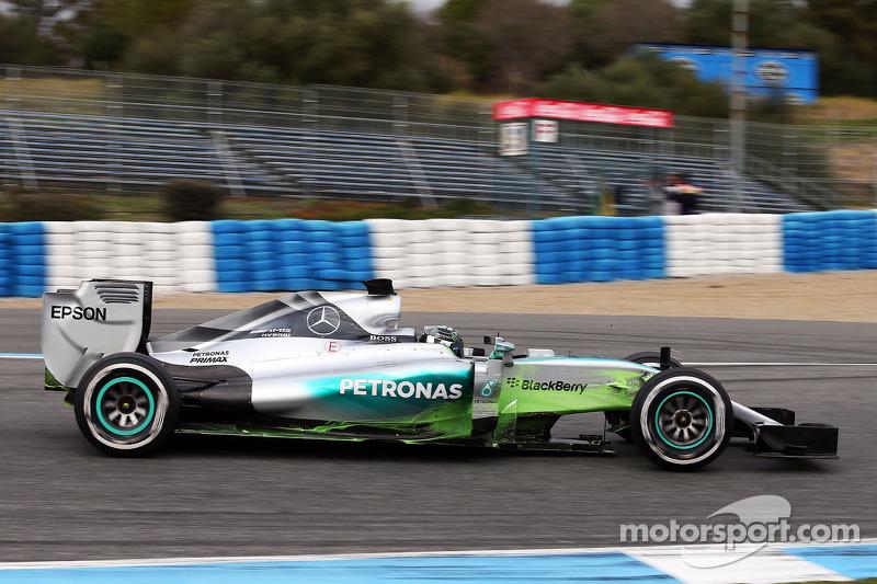 尼克·罗斯伯格, 梅赛德斯AMG车队,F1 W06赛车