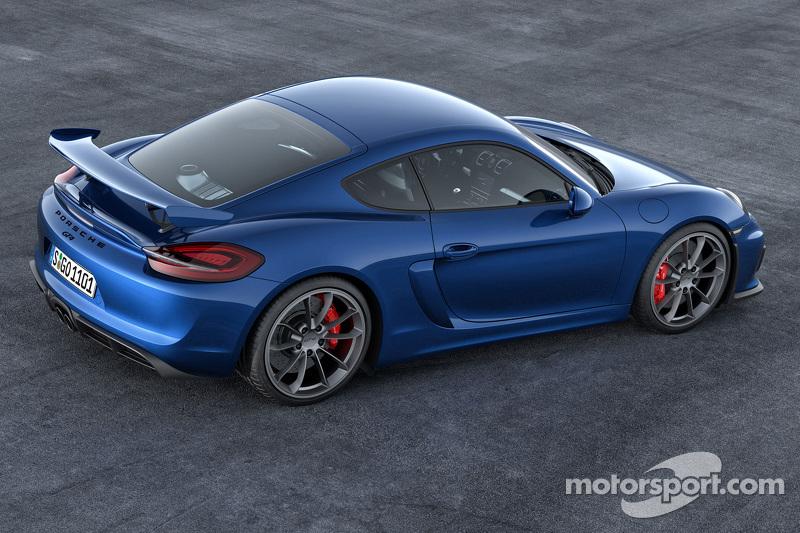 Der neue Porsche Cayman GT4