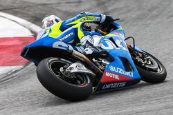 Aleix Espargaro, del Equipo Suzuki MotoGP