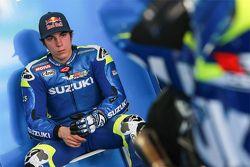 Maverick Viñales, del Equipo Suzuki MotoGP