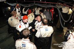 L'équipe Champion Audi se sent bien à propos de la course
