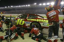 Greg Biffle in the pit