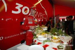 Célébration du 100e rallye WRC de Peugeot : Marcus Gronholm