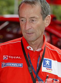 Vincent Laverne, de Peugeot