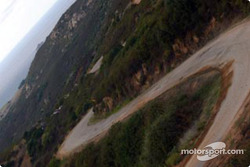 Une route de Corse typique