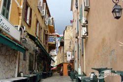 Une rue traditionnelle à Ajaccio