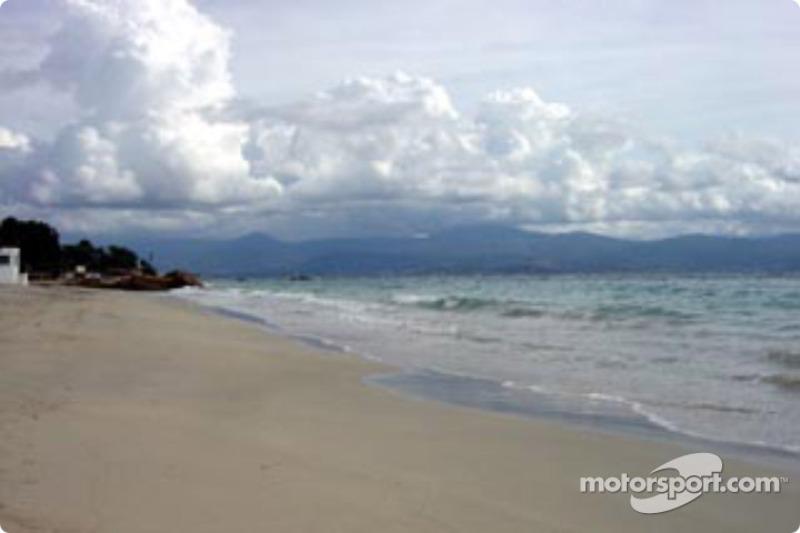 Une plage près d'Ajaccio