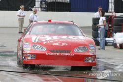 Dale Earnhardt Jr. back to the garage