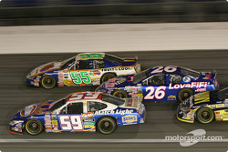 Stacy Compton, Robby Gordon, Mark Green et Casey Atwood
