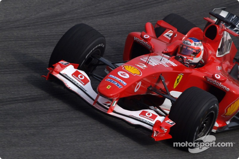 Rubens Barrichello: uma vez