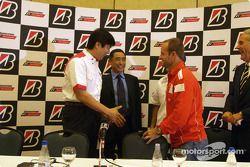 Bridgestone basın toplantısı: Rubens Barrichello